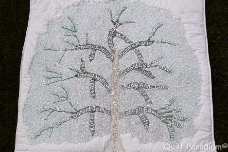 Family Tree by Judy @Quilt Paradigm